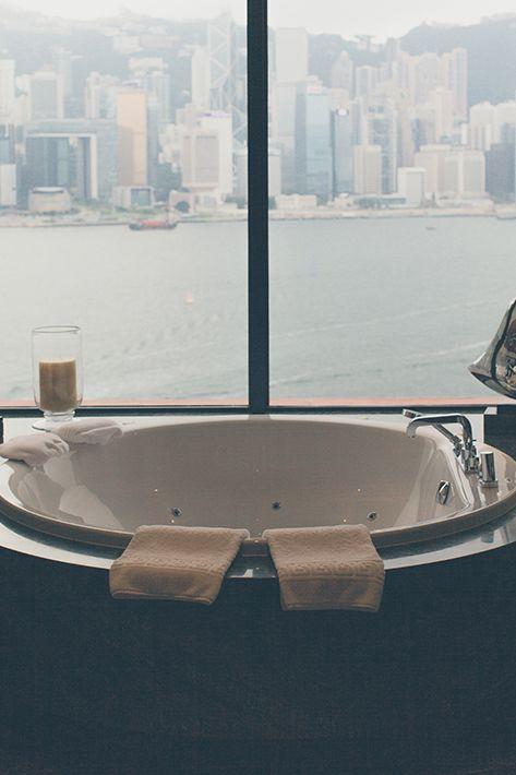 Ya me gustaría que fuera así la bañera...